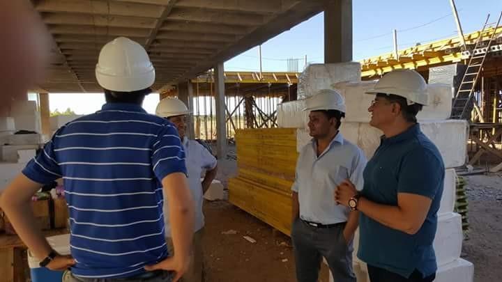 Continúa la Obra del nuevo Hospital Provincial en Río Tercero.