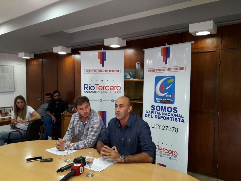 En Conferencia de Prensa el Intendente Alberto Martino dio varios anuncios