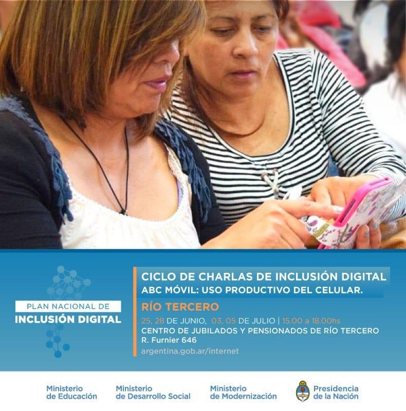 Inclusión Digital llega a Río Tercero
