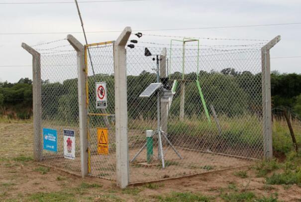 Clima: 40 estaciones en toda la Provincia al servicio del agro y la comunidad