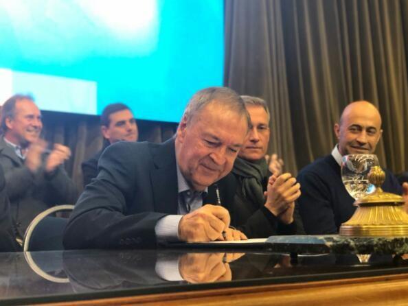 Firma del acuerdo Provincia - Municipios