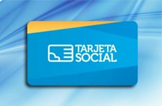 El 14 y 15 de agosto se deposita el monto de la Tarjeta Social