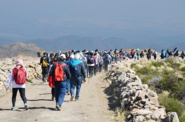 Multitudinario movimiento de fe en la Peregrinación de Brochero