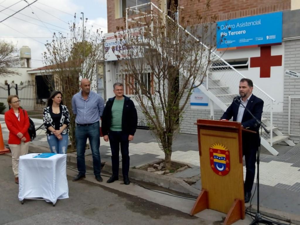 Se inauguró el 66° Centro de Adicciones en Río Tercero