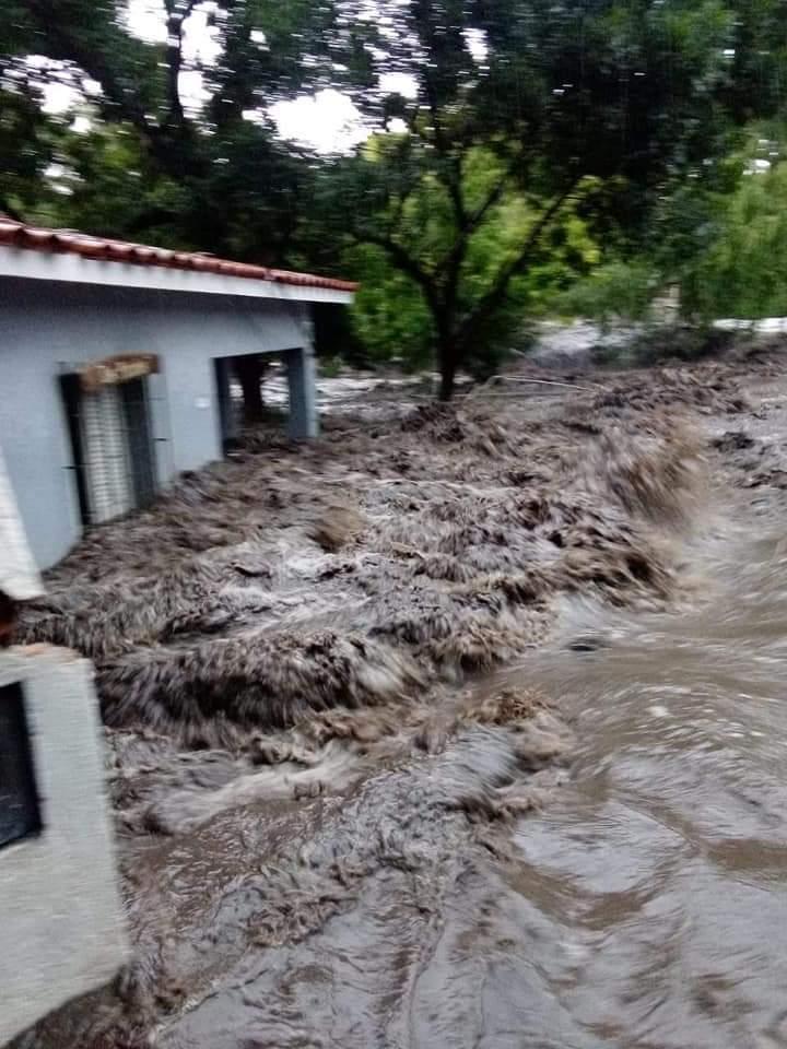Importante crecida de ríos en Córdoba