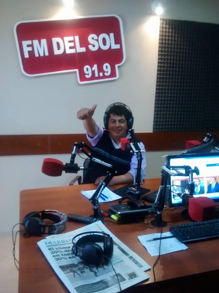 Pato Salinas (Periodista de Causete San Juan):