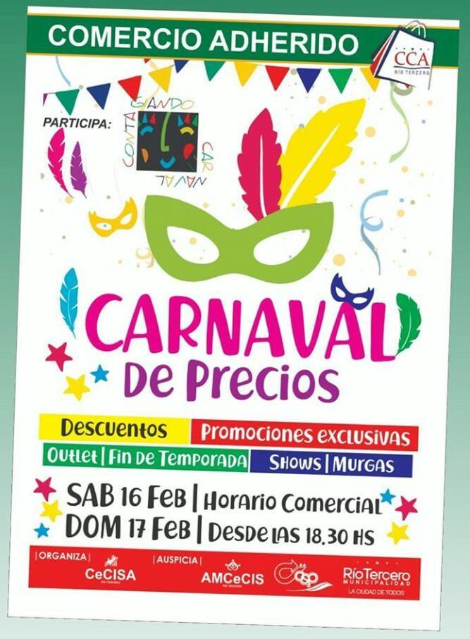 Se viene el Carnaval de Precios