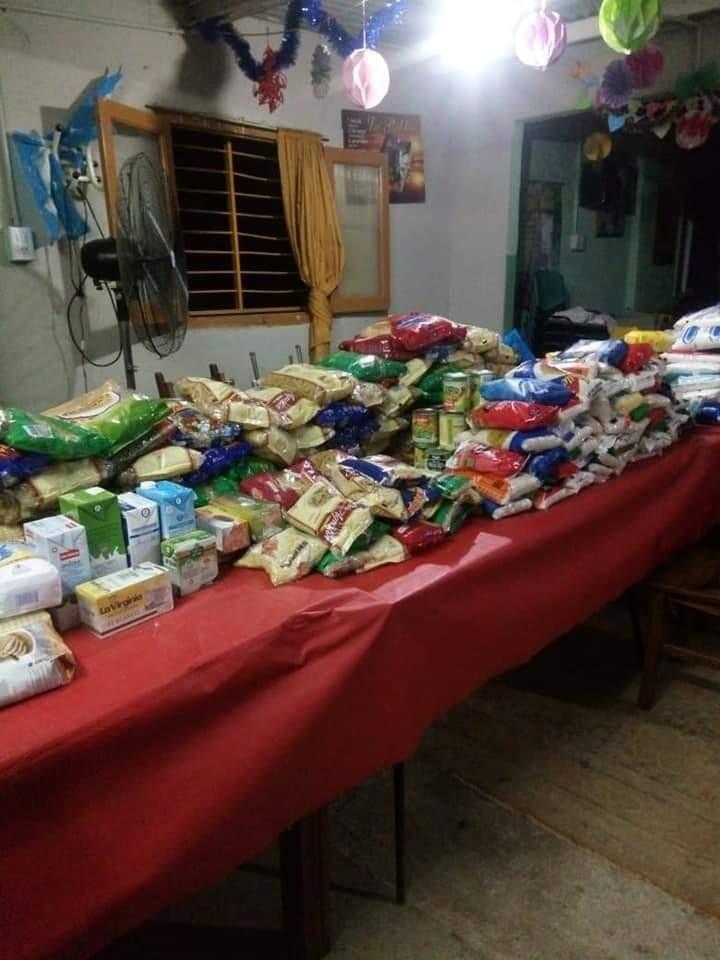 El Comedor Luz del mundo recibió una gran cantidad de alimentos no perecederos en los Carnavales de Cerino