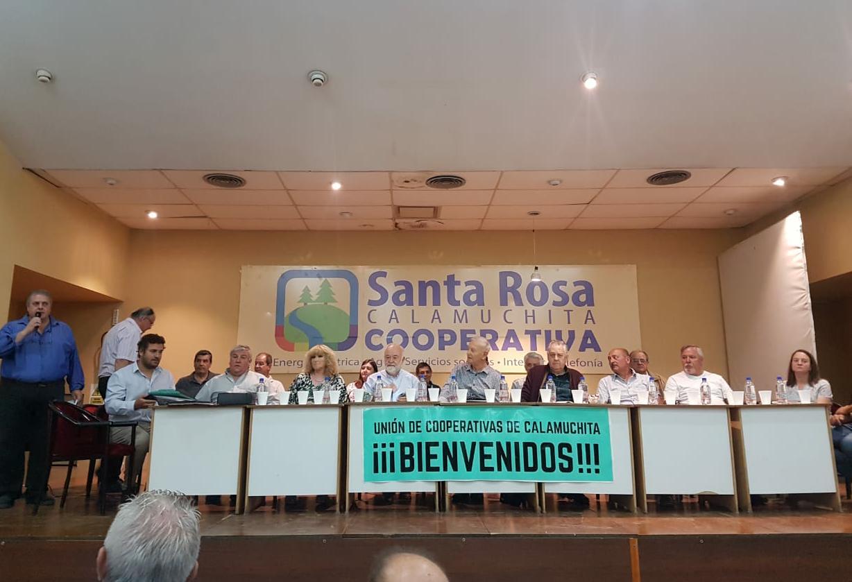 La Cooperativa de nuestra Ciudad participó de la Unión de Cooperativas de Calamuchita  Ltda