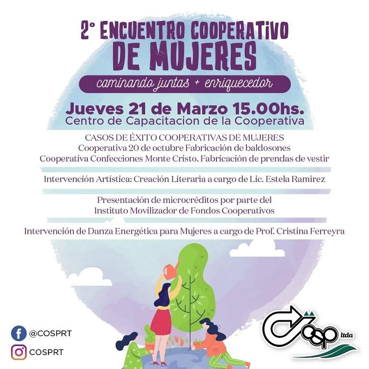 Hoy 2° Encuentro Cooperativo de Mujeres
