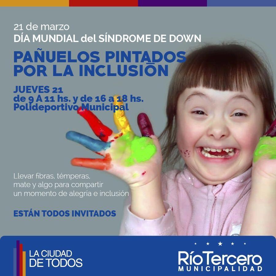 En el Día Mundial del Síndrome de Down se realiza la actividad