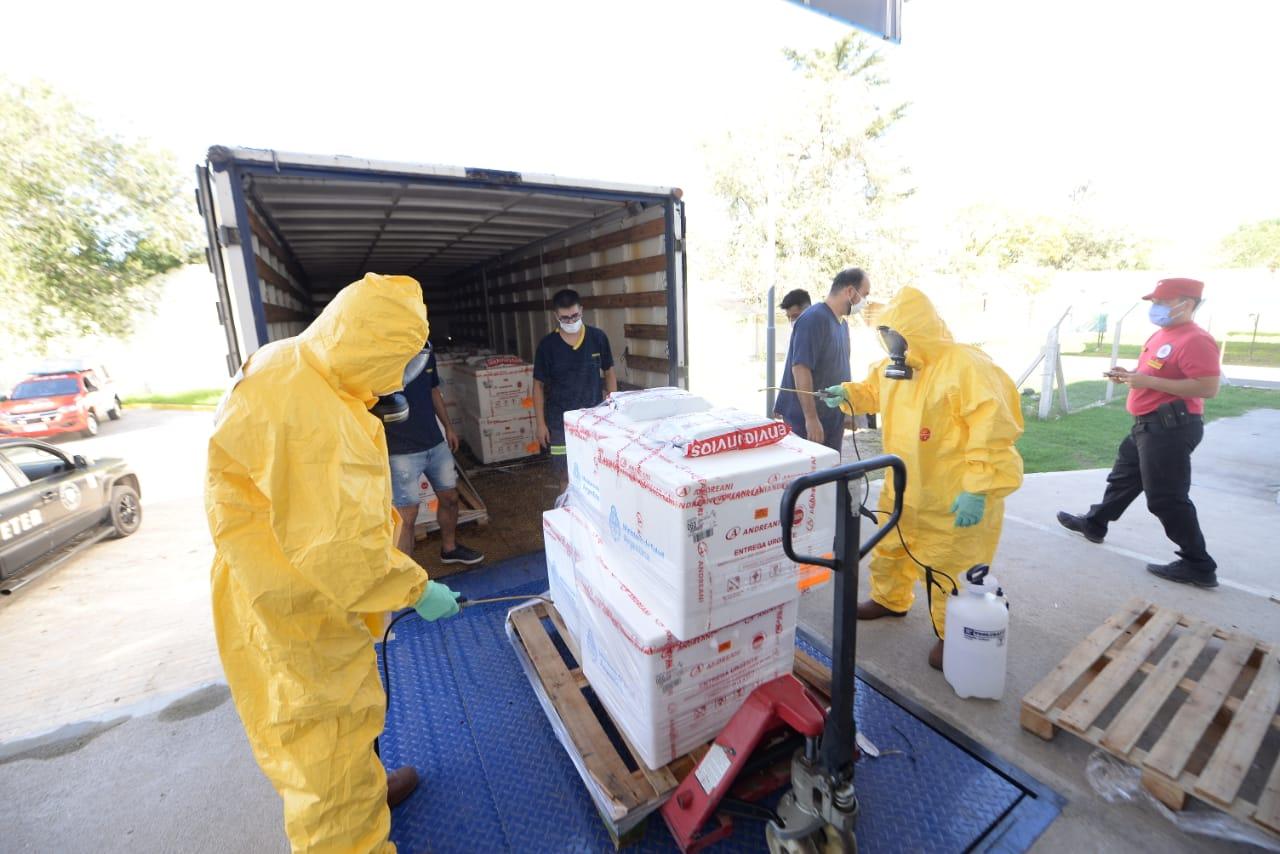 Córdoba recibió nuevas dosis de las vacunas Sinopharm y Sputnik-V