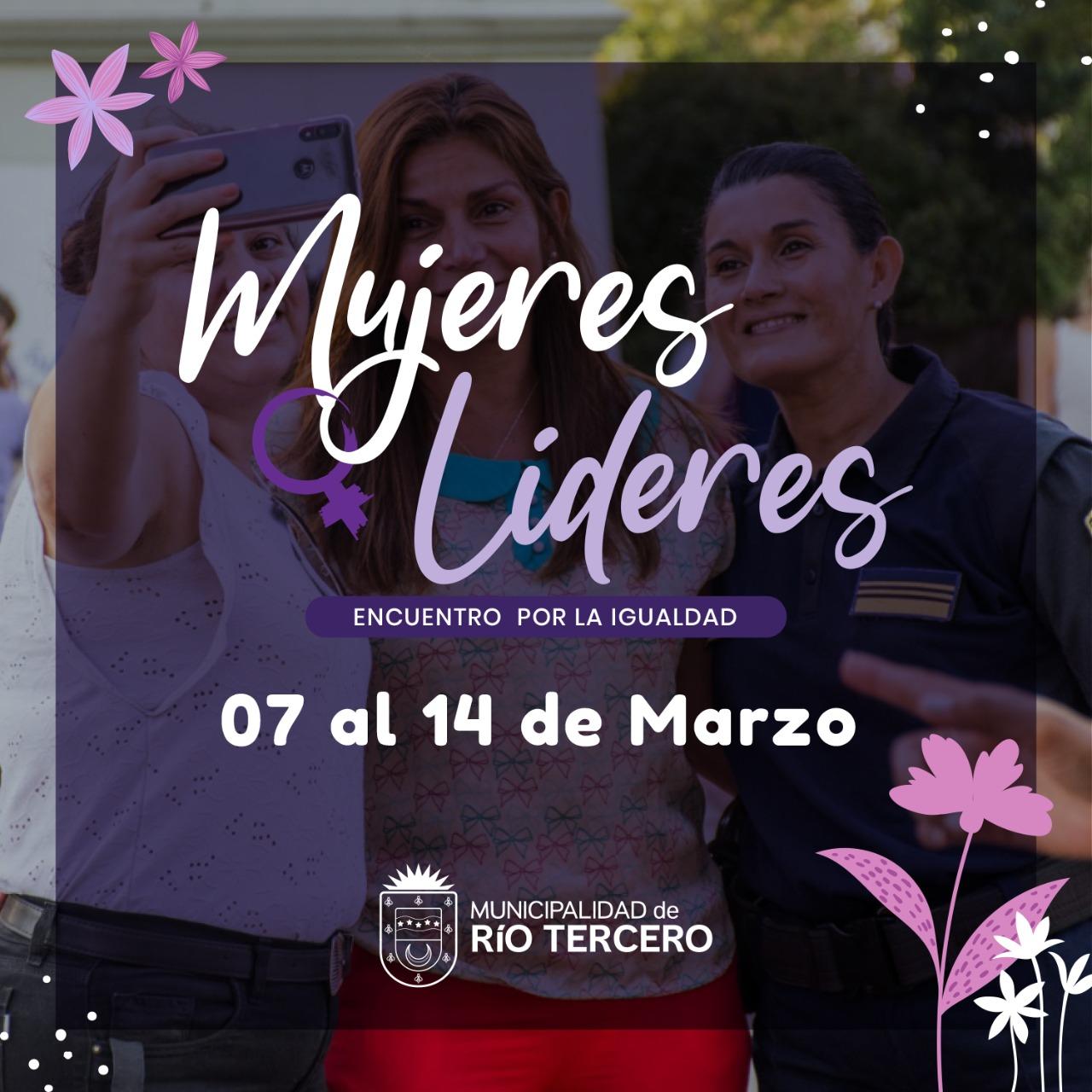 Del 7 al 14 de marzo el municipio realiza actividades por el Día de la mujer.
