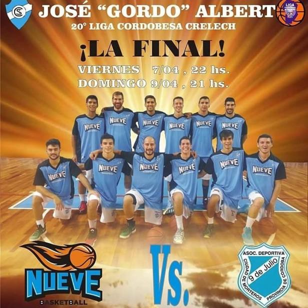 Liga Cordobesa Crelech: Nueve de Morteros ganó de visitante y jugará la final contra 9 de Julio de Río Tercero.