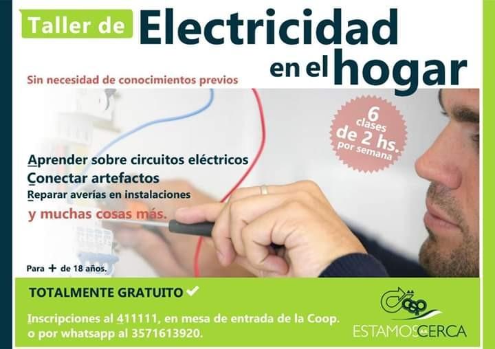 La Cooperativa Comienza con los cursos de electricidad