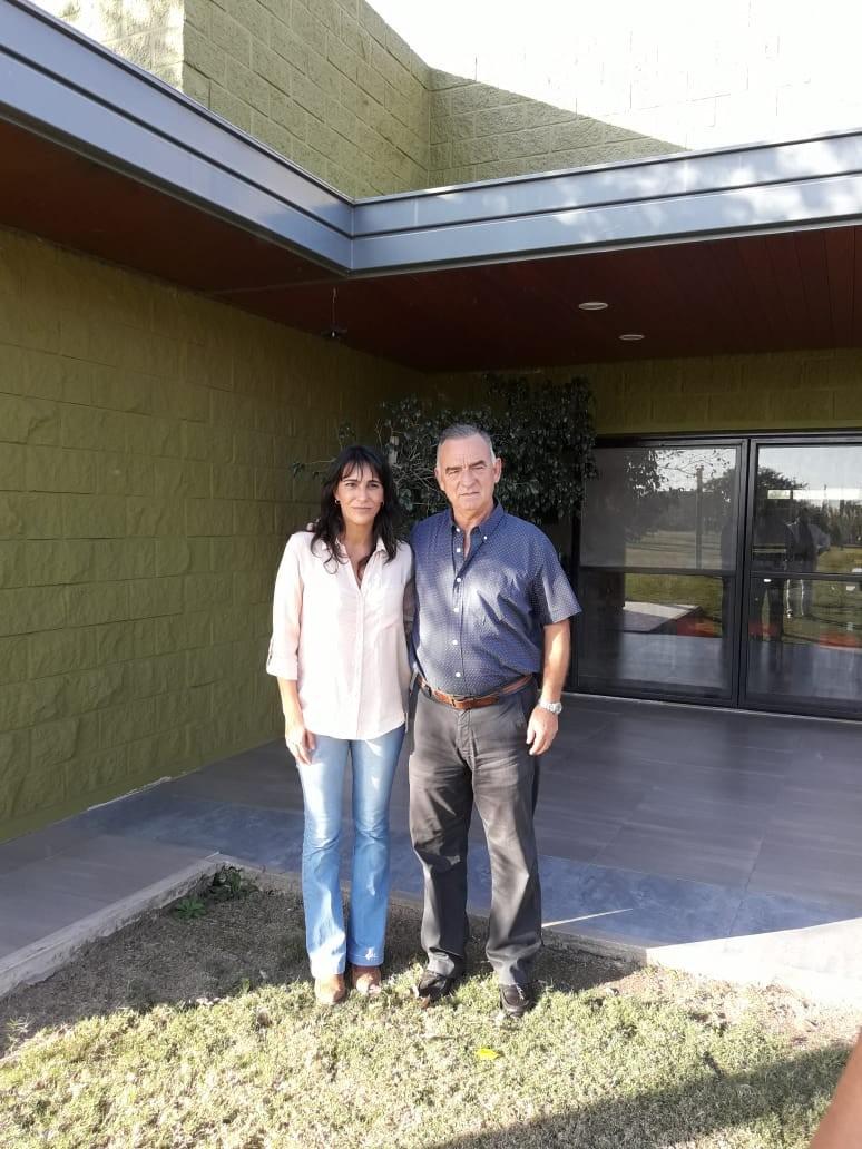 Estuvo en nuestra ciudad Natalia De La Sota visitando al candidato Pecho Lopez