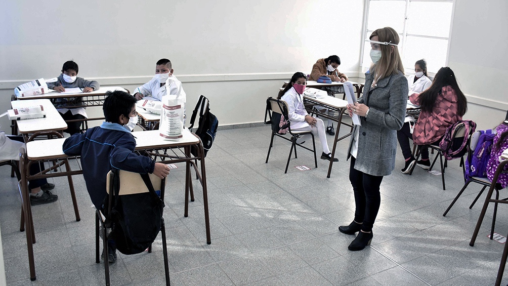 LAS CLASES EN RÍO TERCERO CONTINUARÁN SIENDO PRESENCIALES