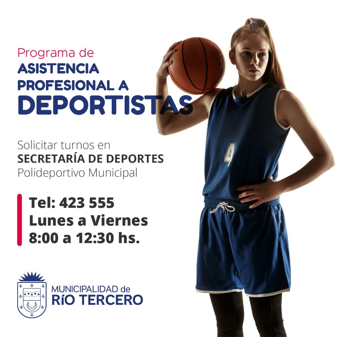 PROGRAMA DE ASISTENCIA PROFESIONAL A DEPORTISTAS