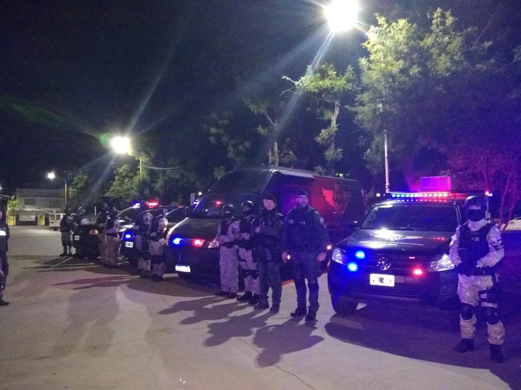 Parte Policial : Operativo Interfuerzas