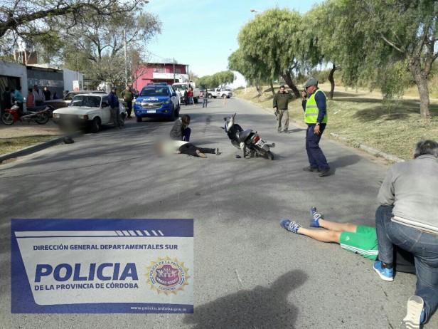 FALLECIÓ MUJER DE 51 AÑOS EN ACCIDENTE CON MOTOCICLETA.
