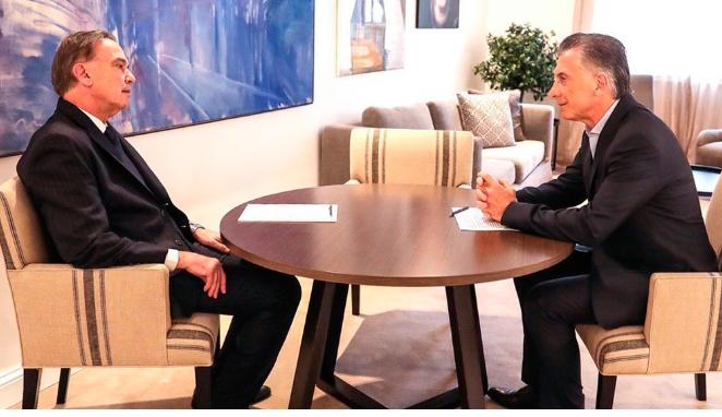 Macri anunció a Miguel Pichetto como su compañero de fórmula