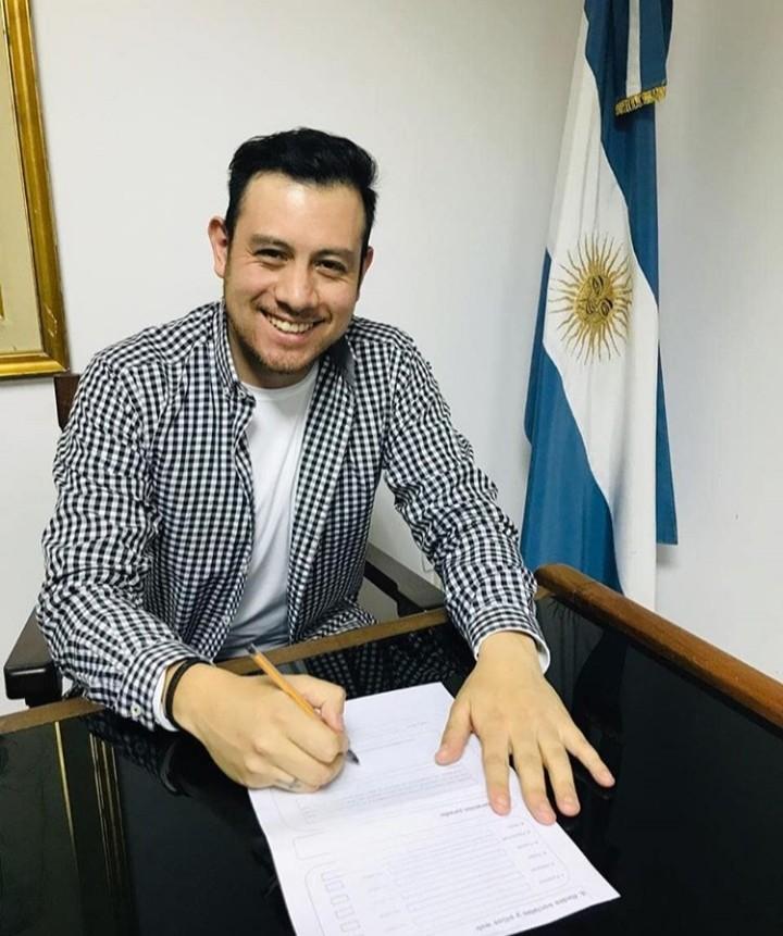 Gonzalo Torres un riotercerense pre candidato a Diputado Nacional
