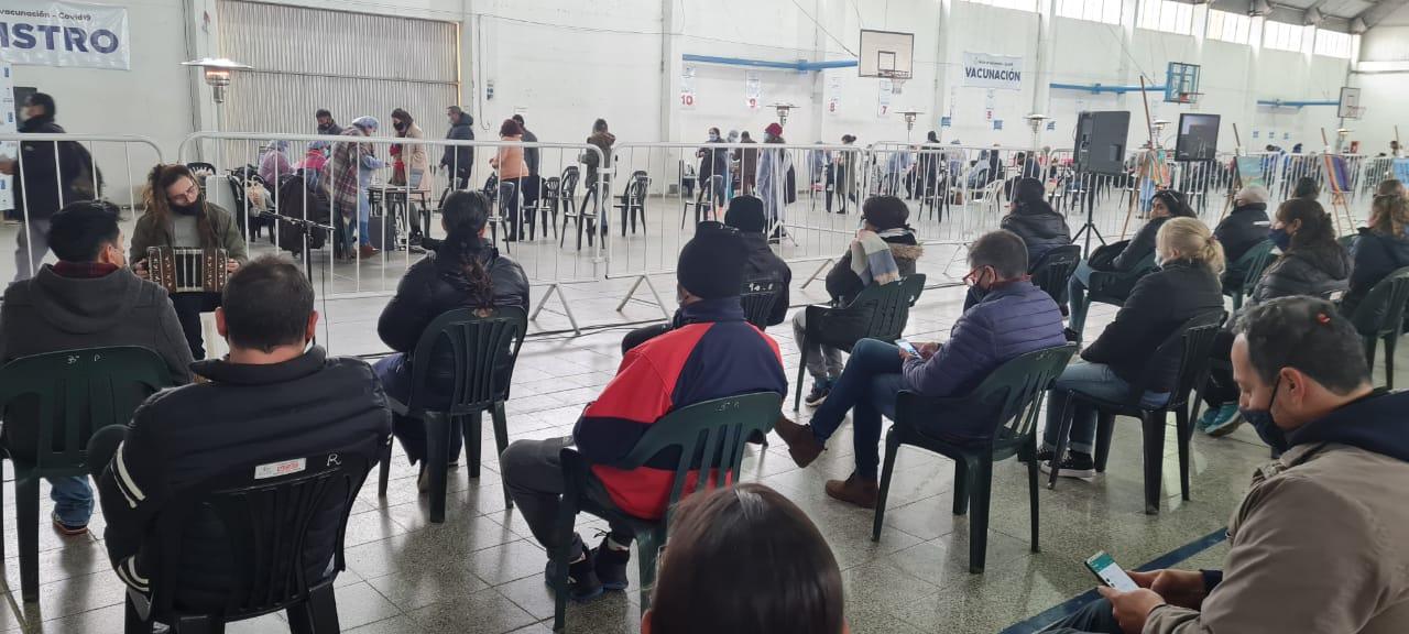Más de 2000 vecinos de Río Tercero vacunados en un día