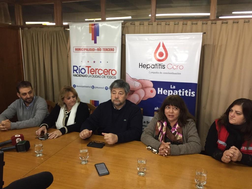 Desde el lunes 22 al viernes 26 de julio se realizará la Campaña de HEPATITIS CERO