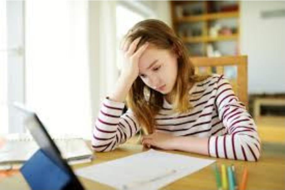 Los chicos sostienen que las clases virtuales fueron agotadoras y que aprendieron muy poco