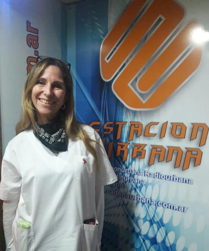 """Dr. Silvina Cisneros (Secretaria de Salud): """"la paciente está muy bien esta sin síntomas, ella consulto por problemas respiratorios leves"""