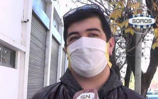 Sergio Villalón (Presidente de la Comisión de Barrio Montegrande):