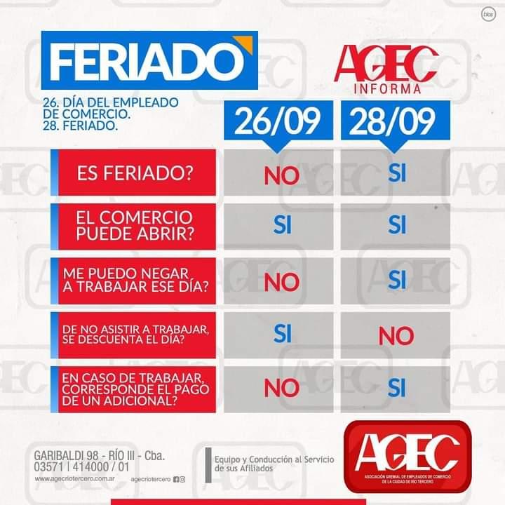 José Orlandi (Secretario general de AGEC): Día del empleado de Comercio y Acuerdo Salarial