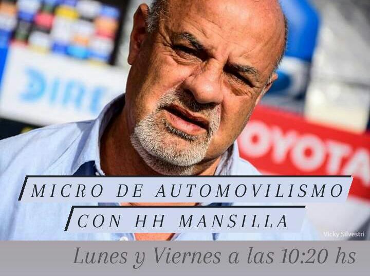 MICRO DE AUTOMOVILISMO CON HH MANSILLA: ACTIVIDAD PARA EL FIN DE SEMANA