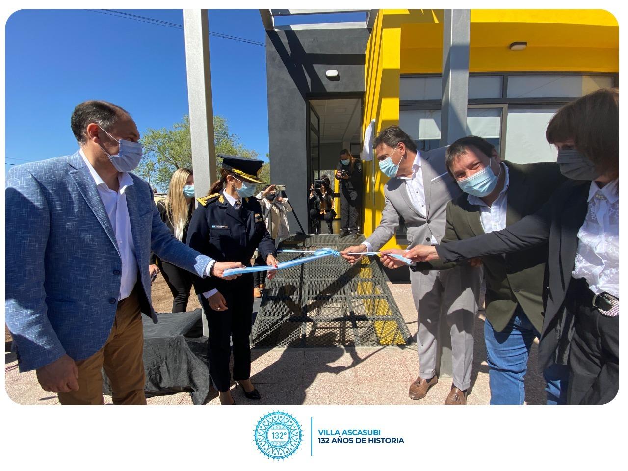 La Municipalidad de Villa Ascasubi inauguró nuevo edificio del Centro de Monitoreo y Videovigilancia Defensa Civil